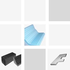 Kształtki 3-D do konstrukcji wsporczych