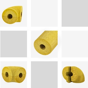 MINERAL WOOL LAGGING and NON-LAMINATED ELBOWS