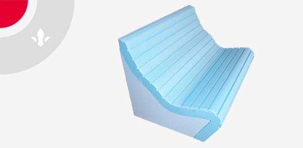 3-D Formteile für Unterkonstuktionen